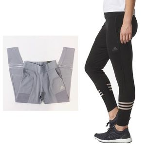 ADIDAS NWT XS Gray Icon Knit Pants